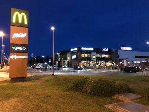 McDonalds and Spar, Zadar